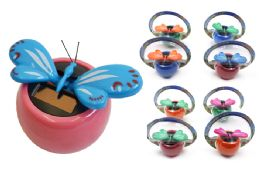 108 Units of BUTTERFLY SUNNY JIGGLER - Summer Toys