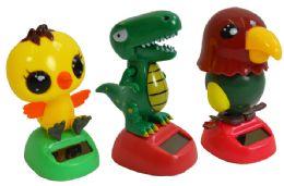 108 Units of CHICK DINOSAUR BIRD SUNNY JIGGLER - Summer Toys