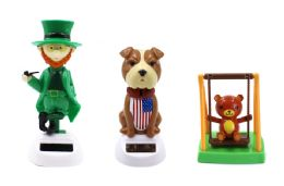 108 Units of Leprechaun American Bulldog Swinging Bear Sunny Jiggler - Novelty & Party Sunglasses