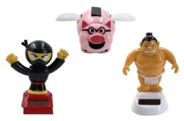 108 Units of NINJA FLYING PIG SUMO WRESTLER SUNNY JIGGLER - Novelty & Party Sunglasses