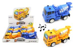 24 Units of Cement Truck With Lights And Sounds - Cars, Planes, Trains & Bikes