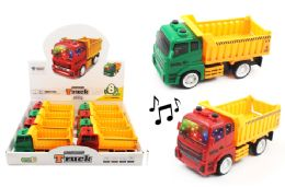 24 Units of Dump Truck With Lights And Sounds - Cars, Planes, Trains & Bikes