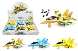 24 Units of Fighter Jet With Lights And Sounds - Cars, Planes, Trains & Bikes