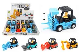 24 Units of Work Truck With Mechanical Front - Cars, Planes, Trains & Bikes