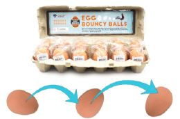 48 Units of Bouncy Egg Ball - Balls