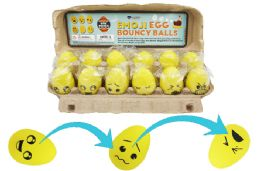 72 Units of Bouncy Egg Ball Emoji - Balls