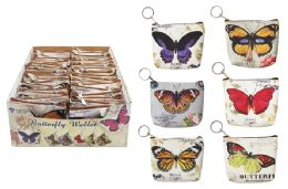 72 Units of Butterfly Keychain Coin Purse - Coin Holders & Banks