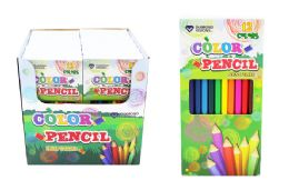 108 Units of COLORED PENCILS 12 COUNT - Crayon