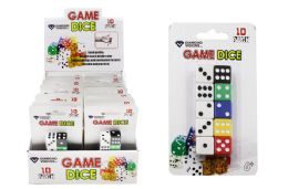 48 Units of Dice Ten Pack - Playing Cards, Dice & Poker