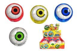 60 Units of Eyeball Light Up Yo Yo - Light Up Toys