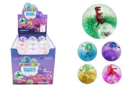72 Units of Flashing Dinosaur Ball - Light Up Toys