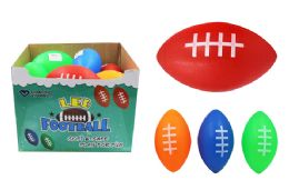 36 Units of Flashing LED Toy Football - Light Up Toys