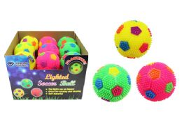 36 Units of Flashing Soccer Ball - Light Up Toys