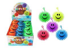 72 Units of Flashing Yo Yo Puffer Ball - Light Up Toys
