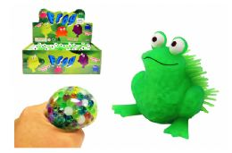 72 Units of Frog Squish Ball - Slime & Squishees