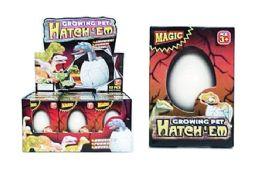 72 Units of Growing Dinosaur Egg - Magic & Joke Toys
