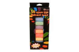 48 Units of Jumbo Sidewalk Chalk - Chalk,Chalkboards,Crayons
