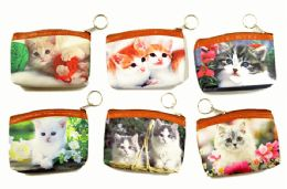96 Units of Kitty Coin Purse - Coin Holders & Banks