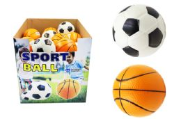 72 Units of Large Foam Soccer Basketball - Balls