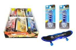 72 Units of Light Up Finger Skateboard - Light Up Toys