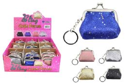 72 Units of Mini Snap Coin Purse - Coin Holders & Banks