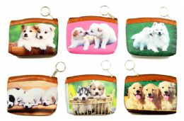 48 Units of Puppy Coin Purse - Coin Holders & Banks