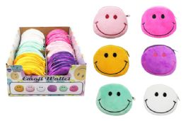 72 Units of Smiley Emoji Coin Purse - Coin Holders & Banks