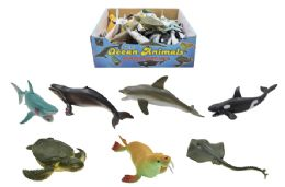 60 Units of Toy Ocean Animal - Animals & Reptiles