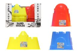 36 Units of Toy Sand Mold - Beach Toys