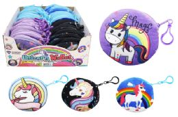 36 Units of Unicorn Plush Coin Purse - Coin Holders & Banks