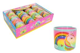 48 Units of Unicorn Slinky Assorted - Light Up Toys