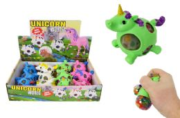 48 Units of Unicorn Squish Ball - Slime & Squishees