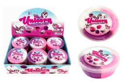 48 Units of Unicorn Tri Color Bouncing Putty - Slime & Squishees