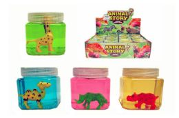 48 Units of Wild Animal Slime - Slime & Squishees