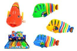 48 Units of Wind Up Tropical Toy Fish - Animals & Reptiles
