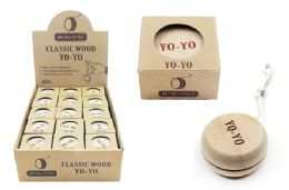 30 Units of Wooden Yo yo - Toys & Games