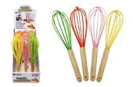 54 Units of Bamboo Handle Whisk - Kitchen Gadgets & Tools