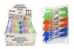 60 Units of Decorative Flower Clips - Clips and Fasteners
