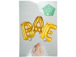 72 Units of Bae Balloon Cake Topper - Store