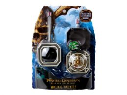 24 Units of Pirates of the Carribean Walkie Talkies - Store
