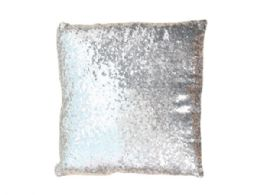 12 Units of Silver Gold Changing Shimmer Pillow - Store