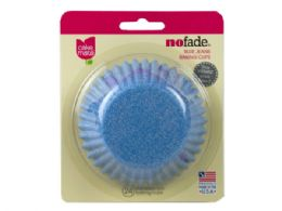 144 Units of 24 Ct Cake Mate Standard Size Blue Jeans Baking Cups - Baking Supplies