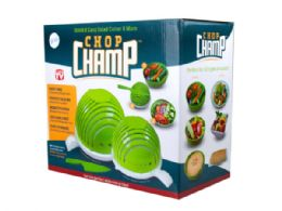 24 Units of Chop Champ Set of Two Salad Cutter with Knife - Store