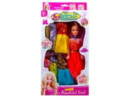 18 Units of 11.5 Fashion Doll with Outfits - Toy Sets