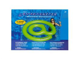 12 Units of @ Sign Round Pool Float - Summer Toys