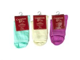 108 Units of Womens Dress Socks 9-11 Assorted Colors - Womens Dress Socks