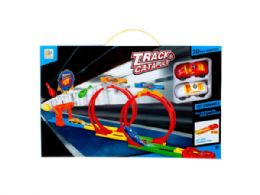 12 Units of Race Car Launchers with Track - Toy Sets