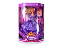 12 Units of 11.5 Ball Gown Fashion Doll - Toy Sets