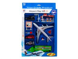 12 Units of Assorted Transportation Play Set - Toy Sets