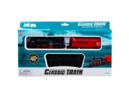 12 Units of Battery Operated Light Up Railroad Set - Toy Sets